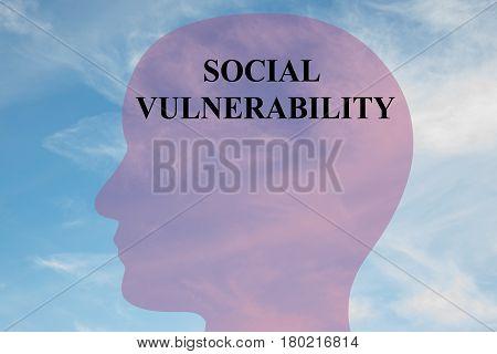 Social Vulnerability - Mental Concept