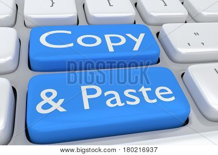 Copy And Paste Concept