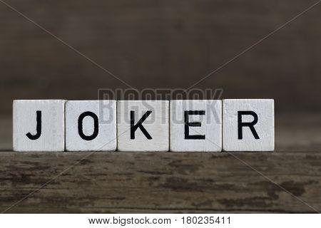 Joker, Written In Cubes
