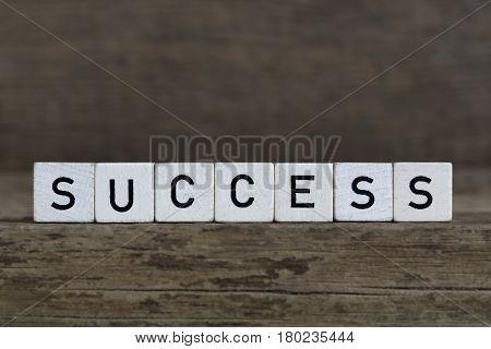Success, Written In Cubes