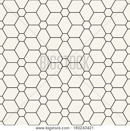Geometric Grid Graphic Deco Floral Pattern Print
