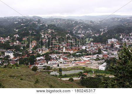 Campos do Jordao Brazil scenic view landscape