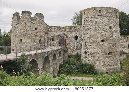 Koporskaya Fortress. 13Th Century. Leningrad Region, Russia