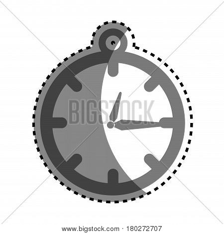 chronometer watch isolated icon vector illustration design