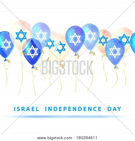 Israel Independence Day. Vector