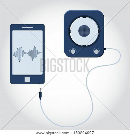 Phone With Speaker