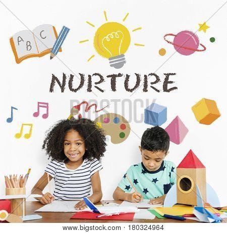 Nurture concept and children