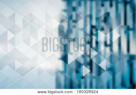 Abstract Blur Digital Business Background Design