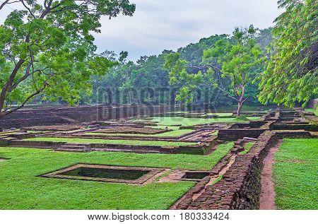 The Royal Gardens Of Sigiriya