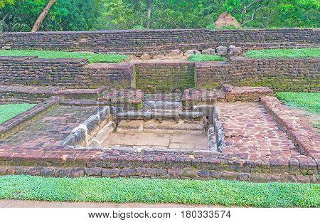 The Ancient Ruins In Sigiriya