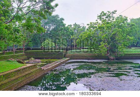 The Water Garden Of Sigiriya
