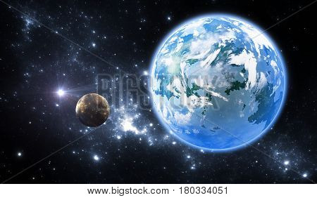 Extrasolar planet or exoplanet another Earth-like planet