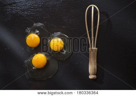 Fresh Raw Egg