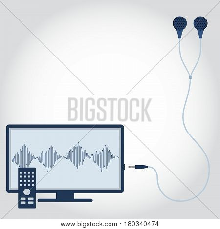 Television With Earphone