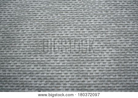 close up on roof shingles background for design