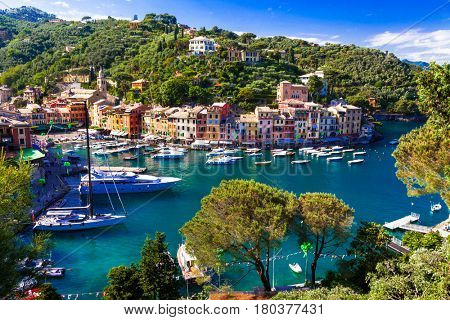 Luxury Italian vacations - beautiful Portofino in Ligurian coast