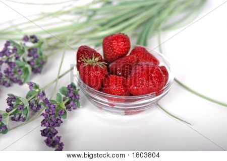 Strawberries And Lavender