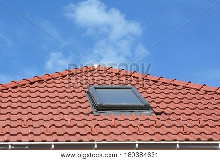 Dirty Skylight. Attic House Skylight Care and Cleaning. How to Clean Skylights and Conservatories.