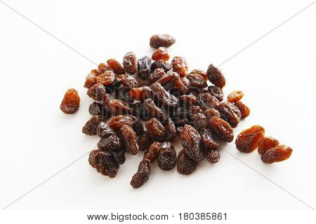 Raisin / A raisin is a dried grape. Raisins are produced in many regions of the world and may be eaten raw or used in cooking, baking, and brewing.