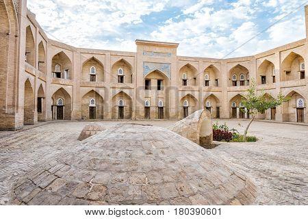 Atrium Of The Madrassa, Khiva