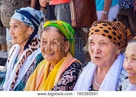 Senior Uzbek Ladies