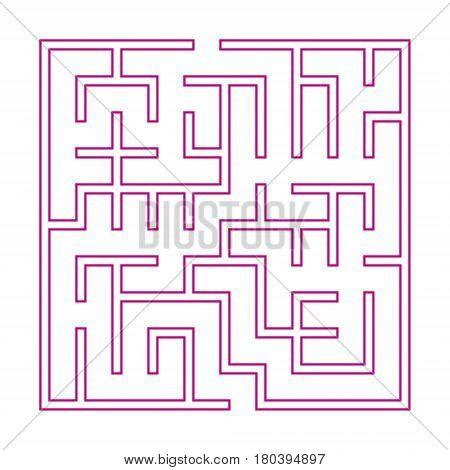 Modern Pink Square Maze