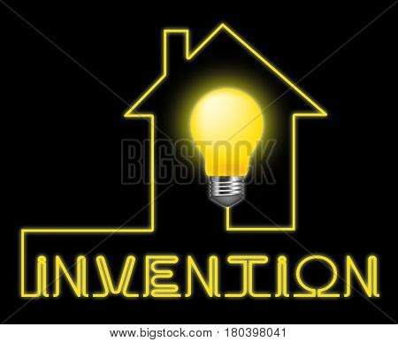 Invention Light Meaning Innovating Invents And Innovating poster