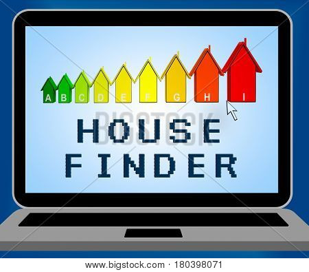 House Finder Representing Finders Home And Found