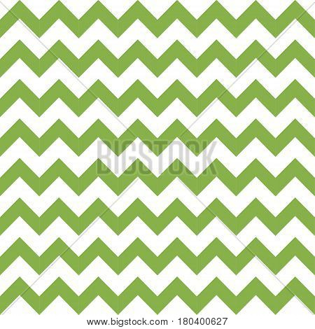 Green spring chevron seamless pattern background, vector illustration. Trendy color 2017, wrapping paper design