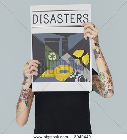 Disaster Calamity Destruction Damage Concept