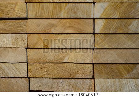 Stacked Boards For Background