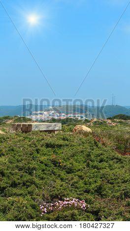 Sunshiny Carrapateira Village, Portugal.