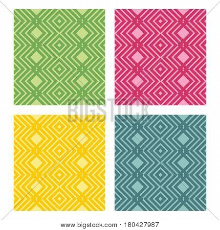 Vector abstract color background with seamless pattern
