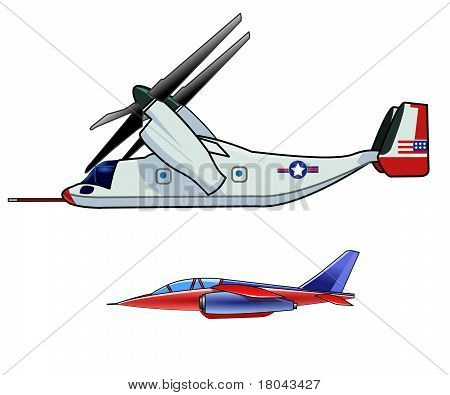 2 Military Aircraft