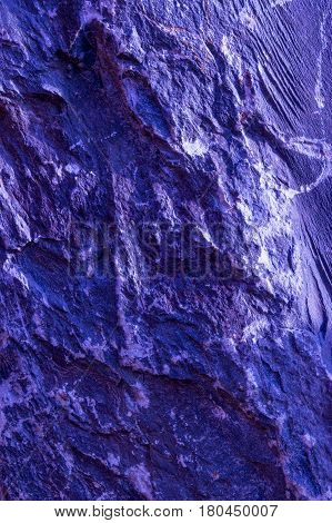 Abstract Artistic Texture Of Purple Stonewall For Using As Background