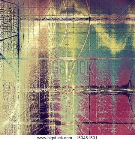 Art grunge texture, vintage abstract background for creative design. With different color patterns: yellow (beige); brown; green; blue; purple (violet)