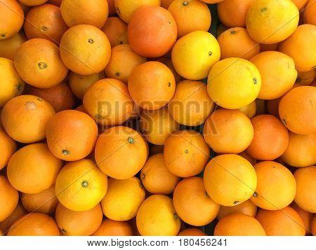 Navel orange texture or background is full frame