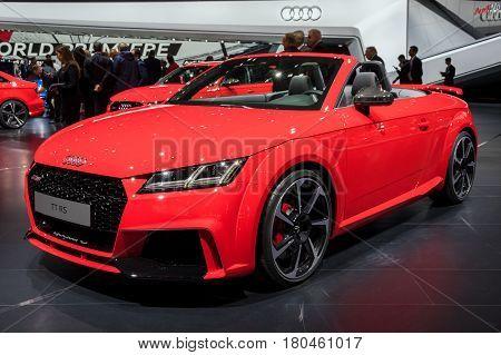 Audi Tt Rs Cabriolet Sportscar