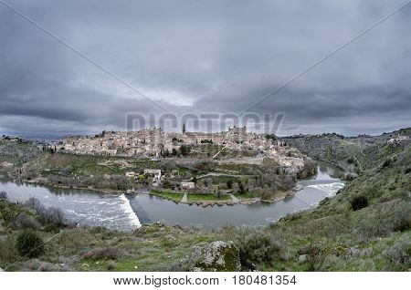 Toledo (Spanish: [toˈleðo]) is a city and municipality located in central Spain, it is the capital of the province of Toledo and the autonomous community of Castile-La Mancha. It was declared a World Heritage Site by UNESCO in 1986