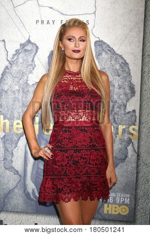 LOS ANGELES - APR 4:  Paris Hilton at the Premiere Of HBO's