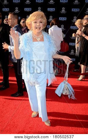 LOS ANGELES - APR 6:  Ruta Lee at the 2017 TCM Classic Film Festival Opening Night Red Carpet at the TCL Chinese Theater IMAX on April 6, 2017 in Los Angeles, CA