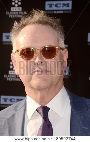 LOS ANGELES - APR 6:  Eddie Muller at the 2017 TCM Classic Film Festival Opening Night Red Carpet at the TCL Chinese Theater IMAX on April 6, 2017 in Los Angeles, CA