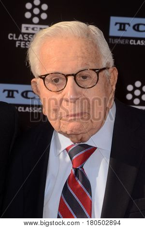 LOS ANGELES - APR 6:  Walter Mirisch at the 2017 TCM Classic Film Festival Opening Night Red Carpet at the TCL Chinese Theater IMAX on April 6, 2017 in Los Angeles, CA