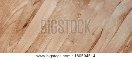 Raw wood forming a beautiful parquet wood pattern