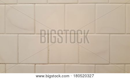 white ceramic bathroom wall tiles square straight lines background
