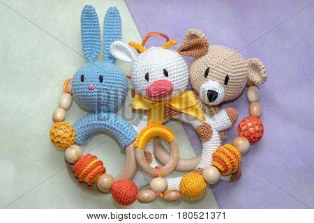 Homemade Amigurumi Toys For Toddlers.