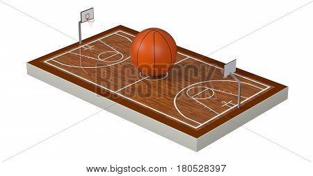 Sport, Basket Concept