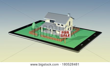 Concept Of Online Real Estate Market