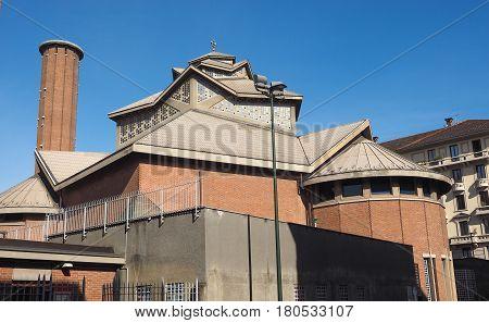 Santa Teresa Church In Turin