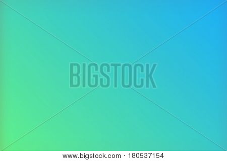 Blue green Color Gradient Vector Background, Simple form and blend of color spaces as contemporary background graphic